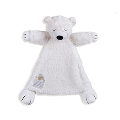 Polar Bear Stuffed Animal Blankie from On the Night You Were Born
