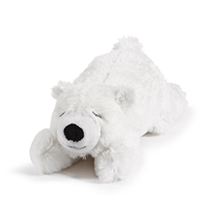 Polar Bear Stuffed Animal Rattle from On the Night You Were Born
